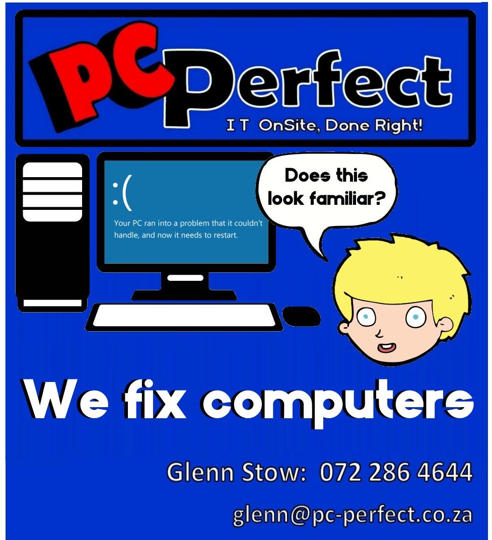 blue screen smiley face computer
